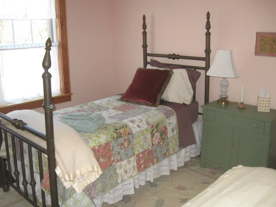 If you stayed in Le Trailer in years past, you will recognize the single bed from The Naughty Nun Cell.